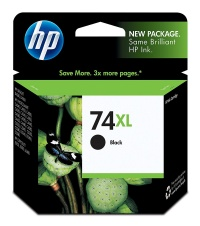 OEM Genuine Hewlett Packard CB336WN#140 HP 74XL Ink Cartridge - Black