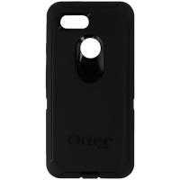OtterBox Defender Series Case and Holster for Google Pixel 3 Smartphone - Black