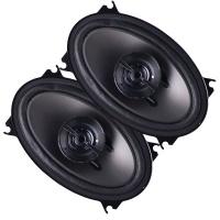 Pioneer TS-G460 G-Series 4 x 6 Inch 2-Way Car Speakers - Pair - Dark Gray