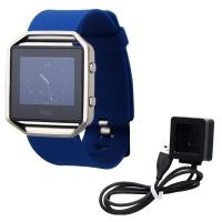 Fitbit Blaze Smart Fitness Watch Activity Tracker - Blue / Large Generic Band