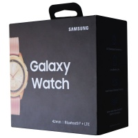 RETAIL BOX - Samsung Galaxy Watch - 42mm / Gold - NO DEVICE