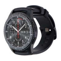 Samsung Gear S3 Frontier 46mm Watch - Gray/Large (Verizon) / MISSING Port Cover