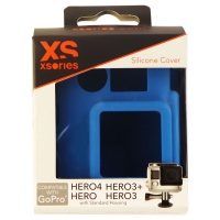 XSories Silicone Cover for GoPro Hero, Hero 3, 3+ and Hero 4 - Blue