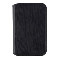 Granite Genuine Leather Folio Case for Palm Smartphones - Black Saffiano