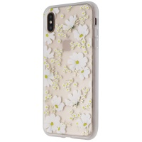 Sonix Ditsy Daisy (White Flowers) Protective Clear Case for Apple iPhone Xs Max