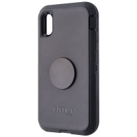 OtterBox + Pop Defender Series Screenless Edition Case for iPhone XR - Black