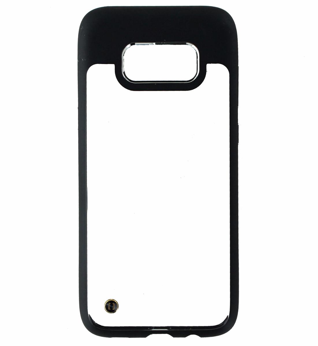Granite Mono Series Hybrid Slim Case Cover for Samsung Galaxy S8 - Clear / Black