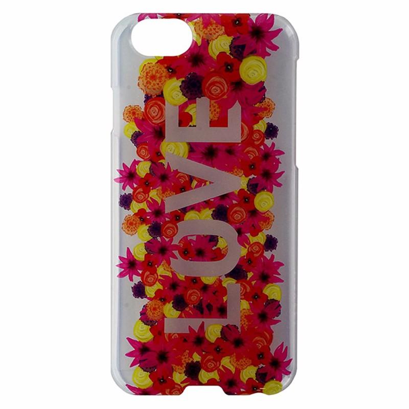 Agent 18 SlimShield Hardshell Case for iPhone 6 / 6s - Clear / Love / Flowers