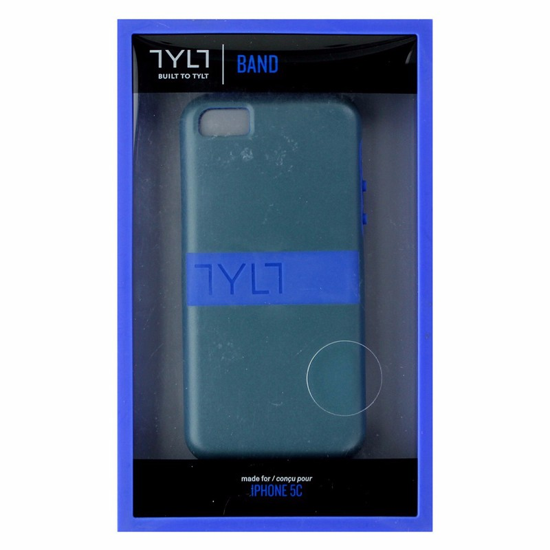 TYLT Band Series Hybrid Case for Apple iPhone 5c - Blue / Grey