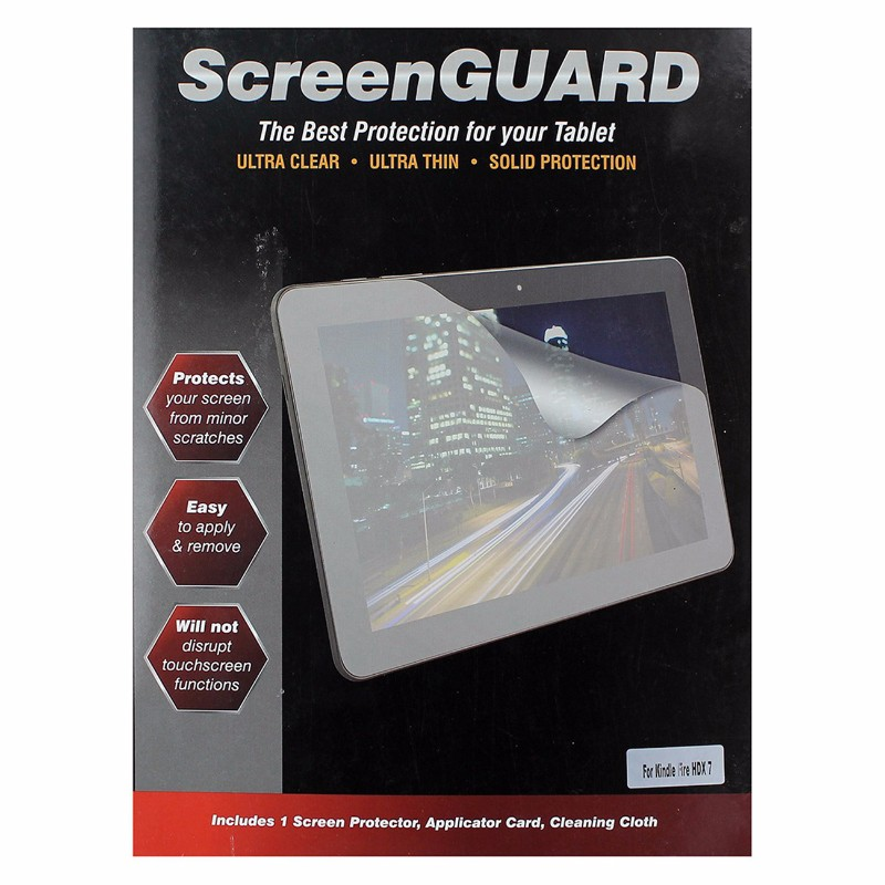 ScreenGUARD Screen Protector for Kindle Fire HDX 7 - Clear