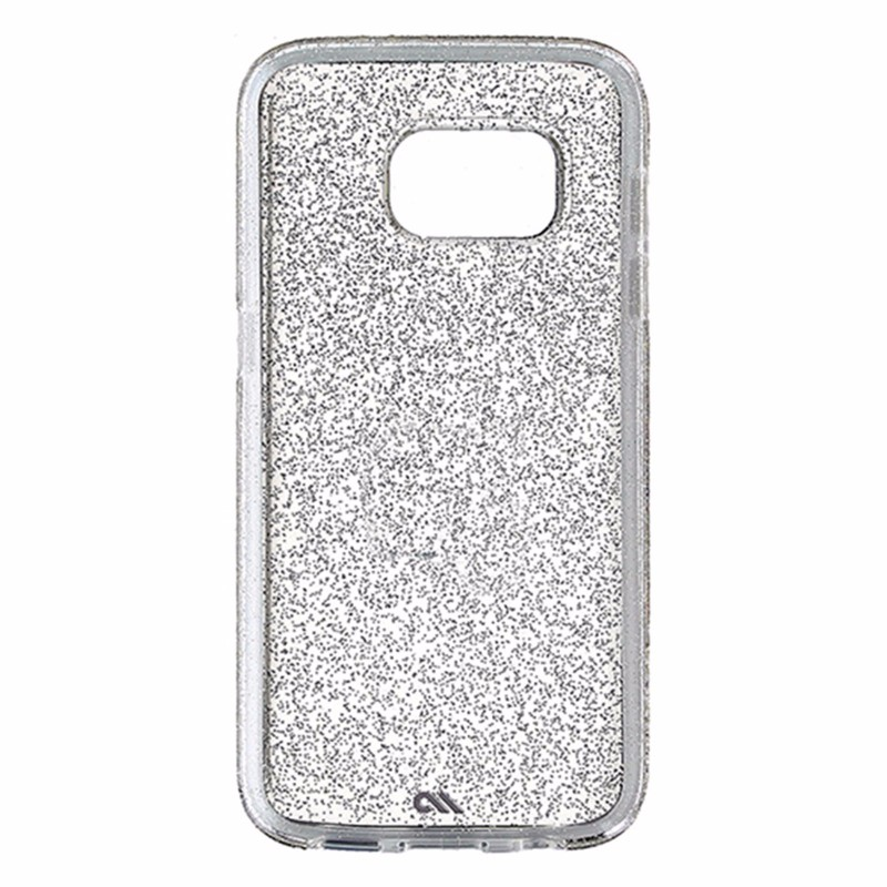 Case-Mate Naked Tough Case for Samsung Galaxy S7 - Clear / Silver Glitter