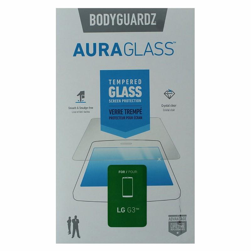 BodyGuardz Aura Glass Tempered Glass for LG G3 Clear SGAC0-LGG30-2C0