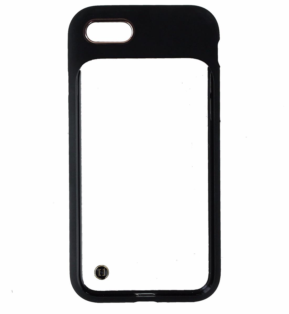 Granite Mono Series Hybrid Slim Case Cover for Apple iPhone 8 / 7 - Clear Black