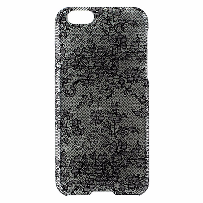 Agent 18 SlimShield Case for Apple iPhone 6 / 6s - Clear / Black Lace