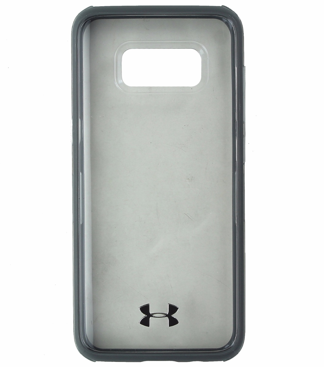 Under Armour Verge Series Hybrid Case for Samsung Galaxy S8 - Clear / Gray