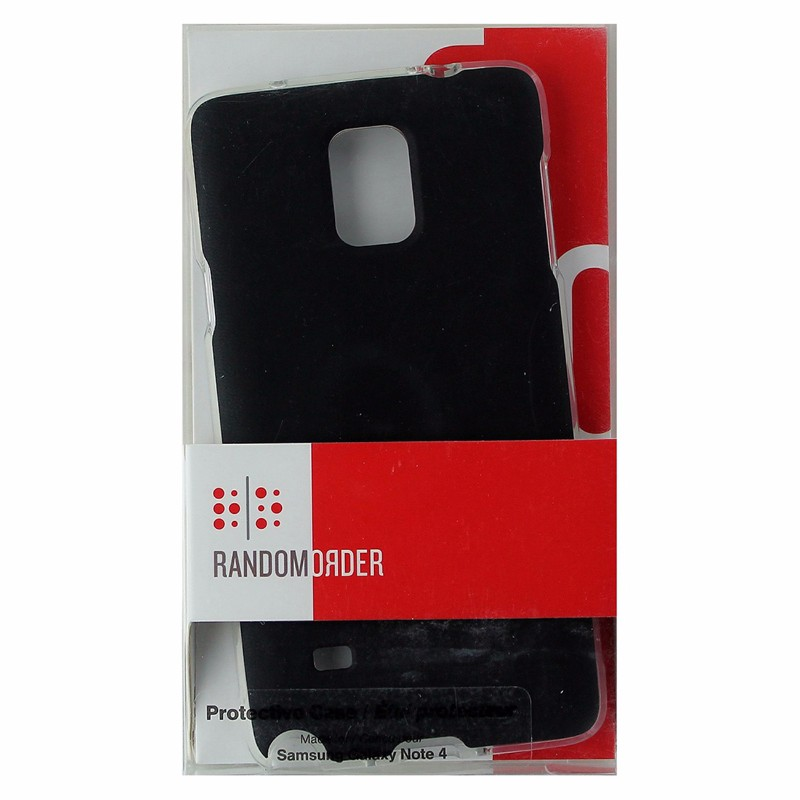 Random Order Protective Case for Samsung Note 4 - Black SAGN4SLBK-RO