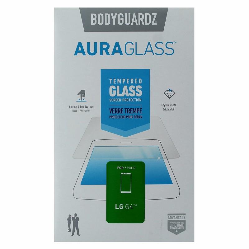 BodyGuardz AuraGlass Tempered Glass Screen Protector for LG G4 - Clear