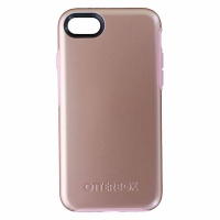 OtterBox Symmetry Series Hybrid Case for Apple iPhone 8 and 7 - Rose Gold (Pink)