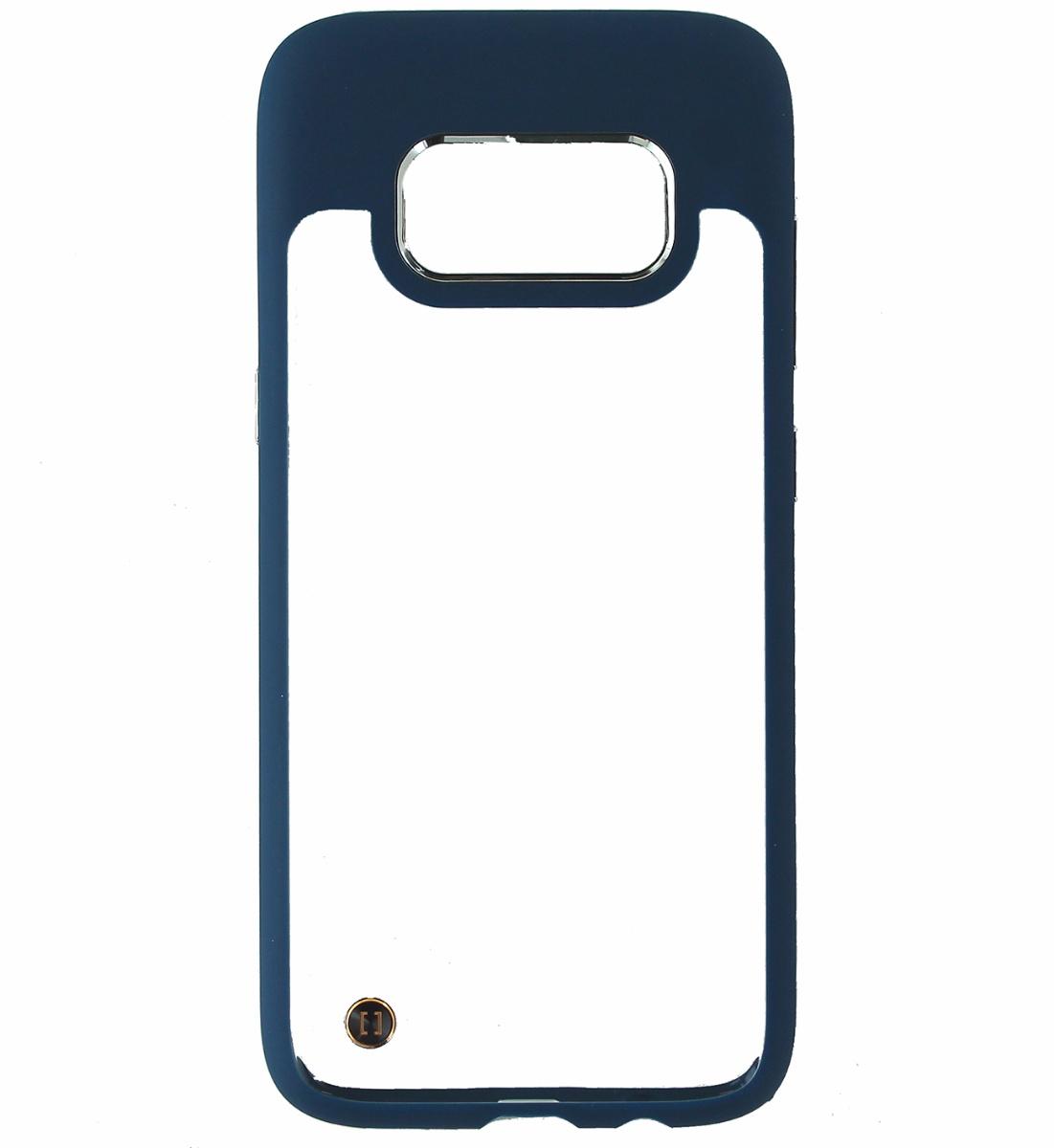 Granite Mono Series Hybrid Slim Case Cover Samsung Galaxy S8 - Clear/Blue
