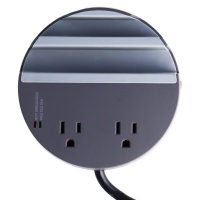 Ventev s500 Series Desktop Charging Hub with 3 Ports and 2 Outlets