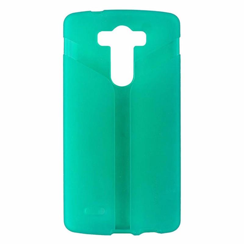 Ventev Via Series Protective Gel Case for LG G3 - Translucent Green / Teal