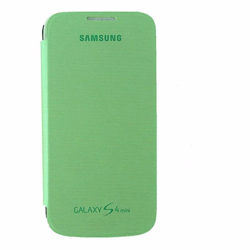 Samsung Flip Cover Case for Samsung Galaxy S4 Mini - Light Green