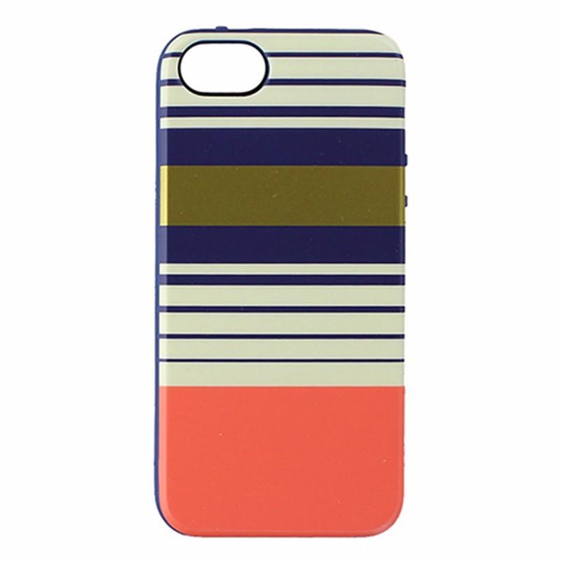 Agent 18 Flexshield for iPhone 5/5S - Preppy Stripes