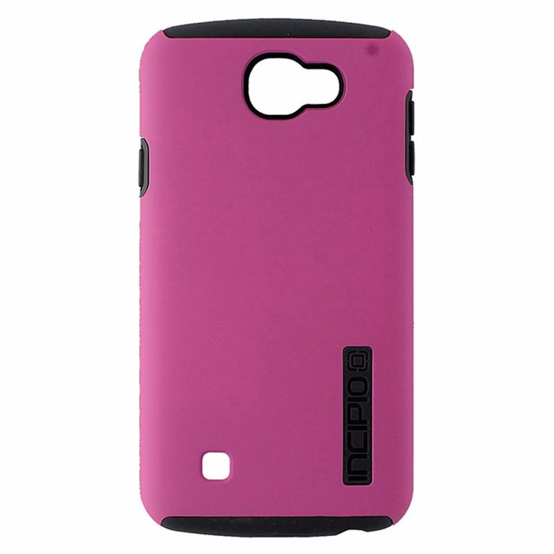 Incipio DualPro Case for LG K4 / Optimus Zone / Spree / Rebel LTE - Pink / Gray