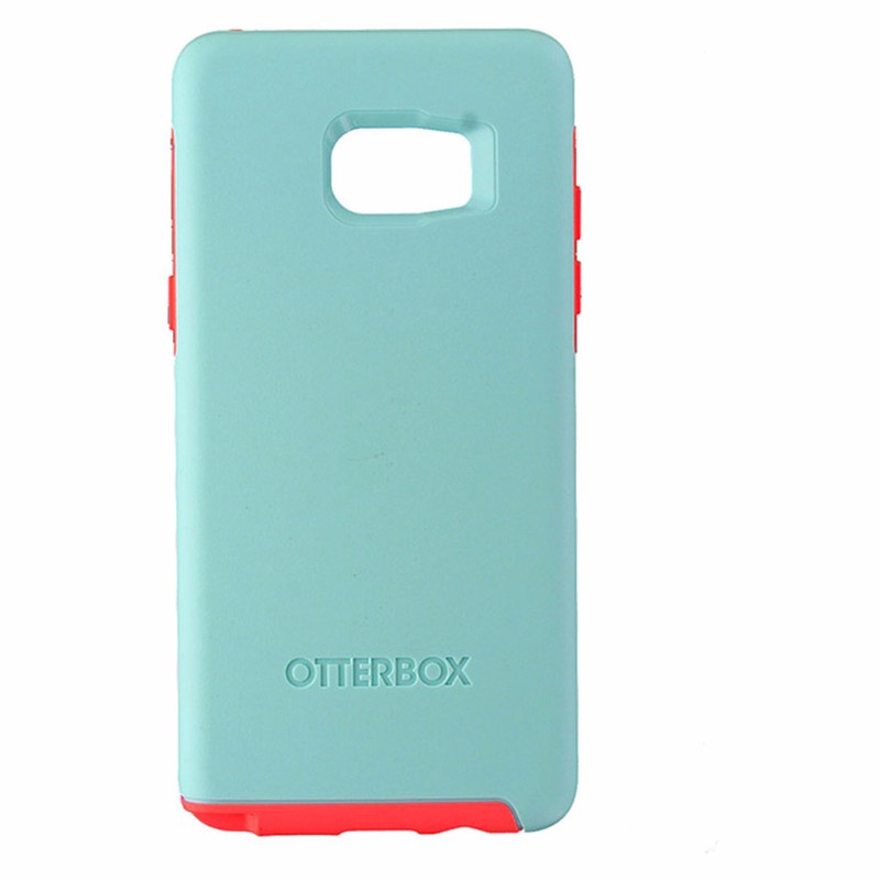 OtterBox Symmetry Case for Samsung Galaxy Note7 - Boardwalk (Baby Blue/Hot Pink)