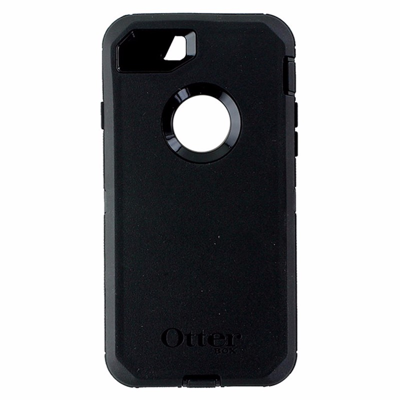 OtterBox Defender Series Case and Holster for Apple iPhone 8 and 7 - Black
