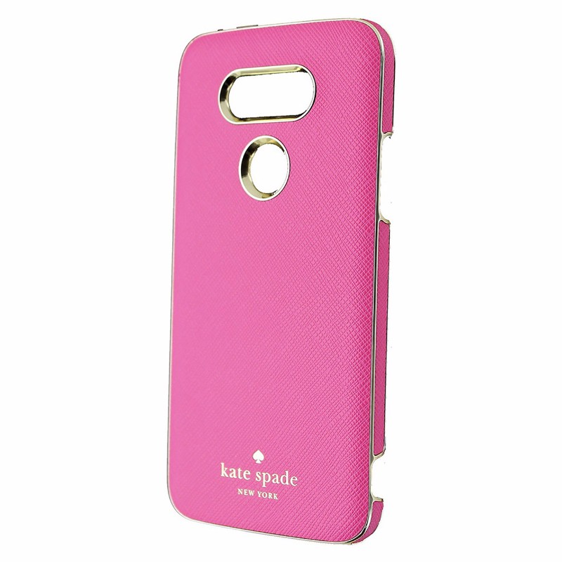 Kate Spade New York Wrap Series Case for LG G5 - Saffiano Pink / Gold