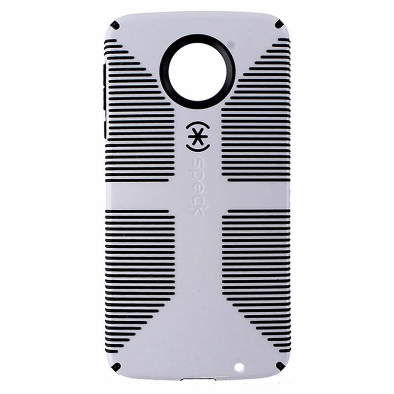 Speck CandyShell Grip Hybrid Case for Motorola Moto Z Droid - White / Black