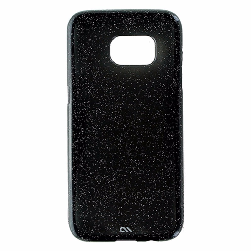 Case-Mate Naked Tough Case for Samsung Galaxy S7 Edge - Black / Silver Glitter