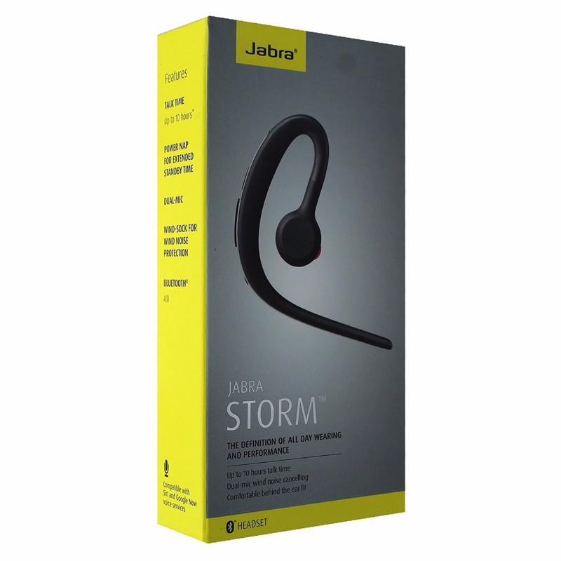 RETAIL BOX - Jabra Storm - Yellow/Gray Box - NO DEVICE