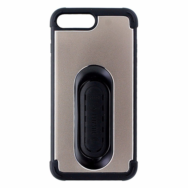 Scooch Clipstic Pro 4 in 1 Protection Case for Apple iPhone 7 Plus - Gold/Black