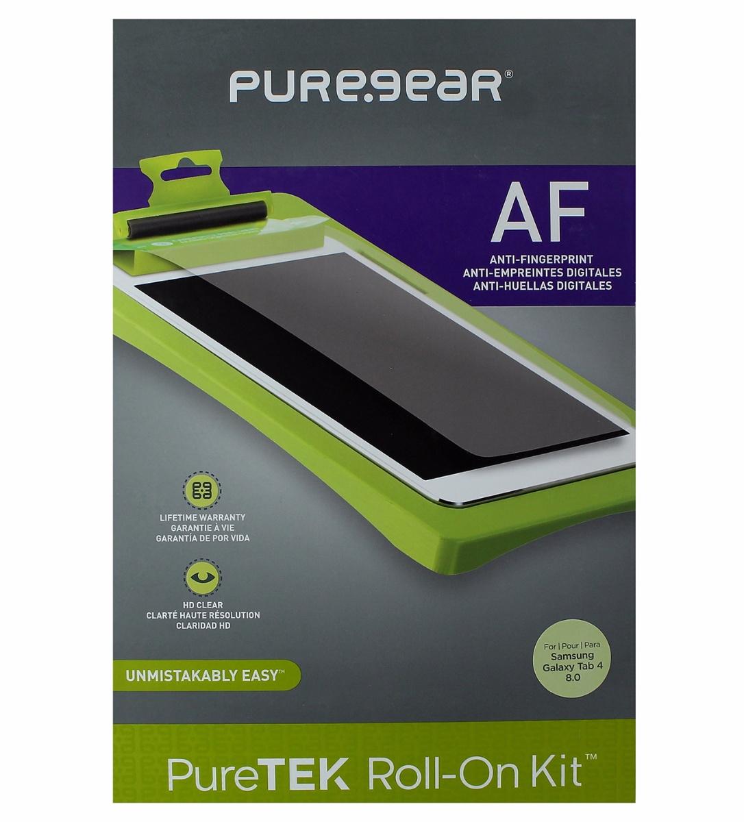 PureGear PureTek Anti Fingerprint Screen Protector Roll On Kit Galaxy Tab 4 8.0