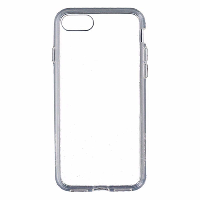 Qmadix C Series Hybrid Hardshell Case Cover for Apple iPhone 8 and 7 - Clear