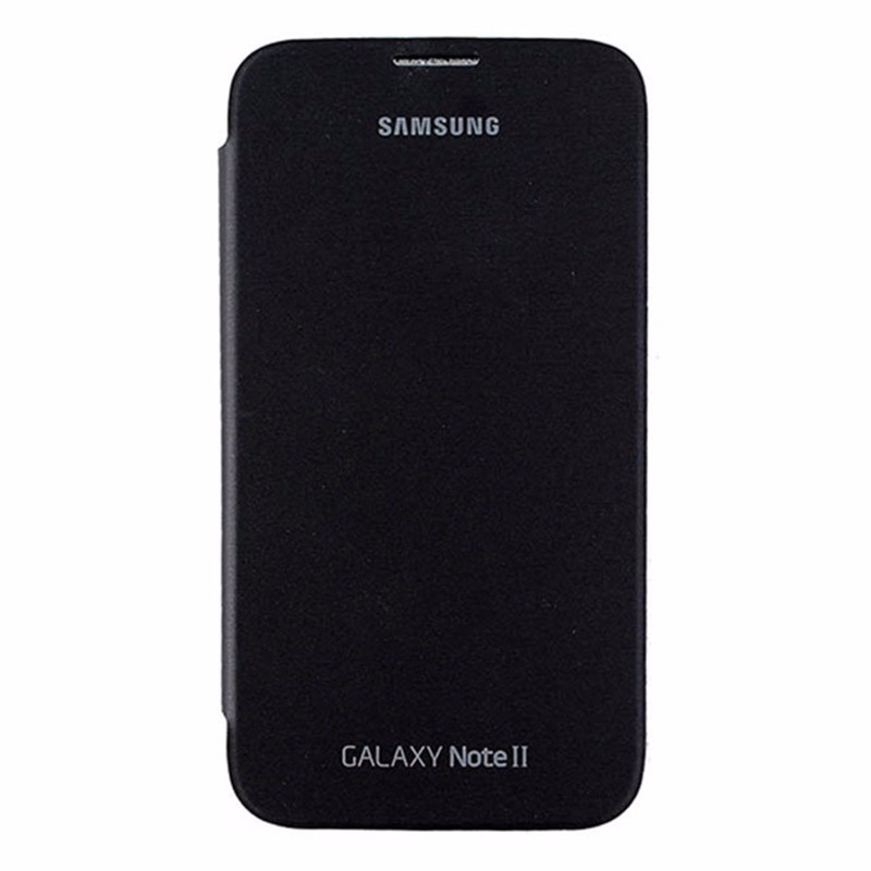 Samsung Flip Cover for Samsung Galaxy Note2 - Black