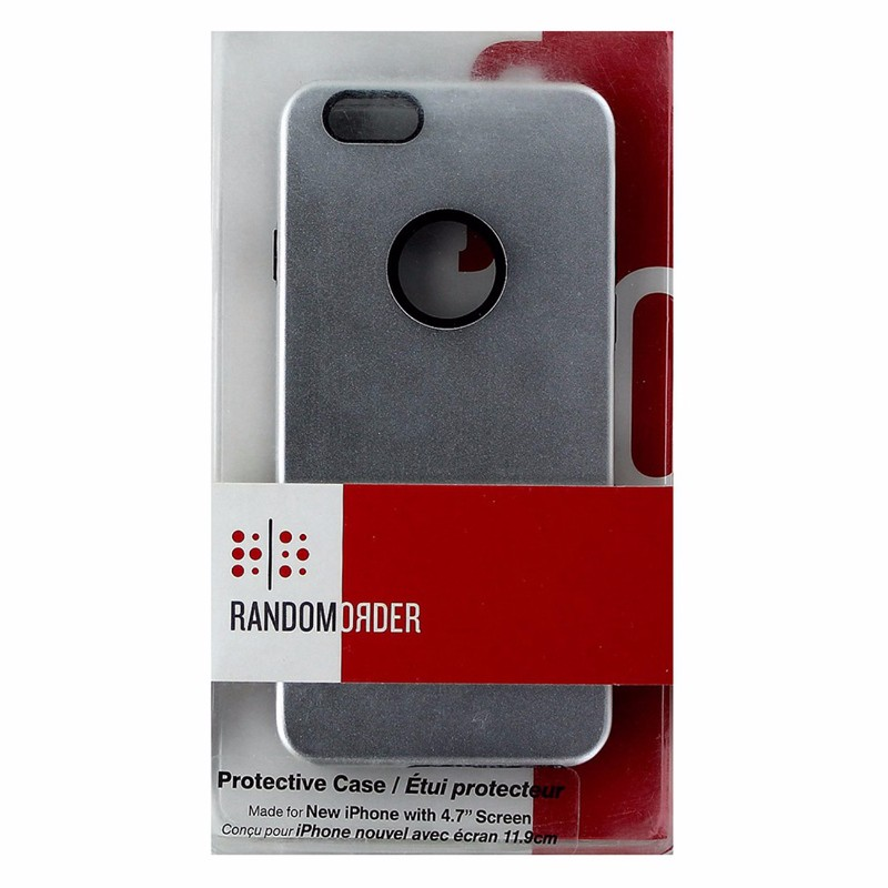 Random Order Protective Case for iPhone 6S / 6 - Silver