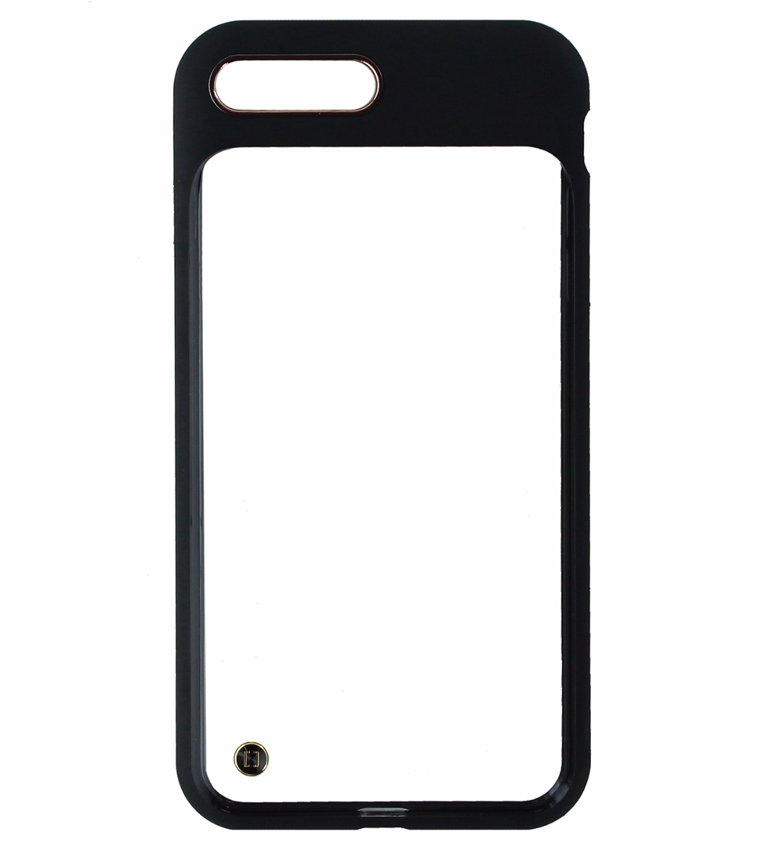 Granite Mono Series Hybrid Case Cover iPhone 8 Plus / 7 Plus - Clear / Black