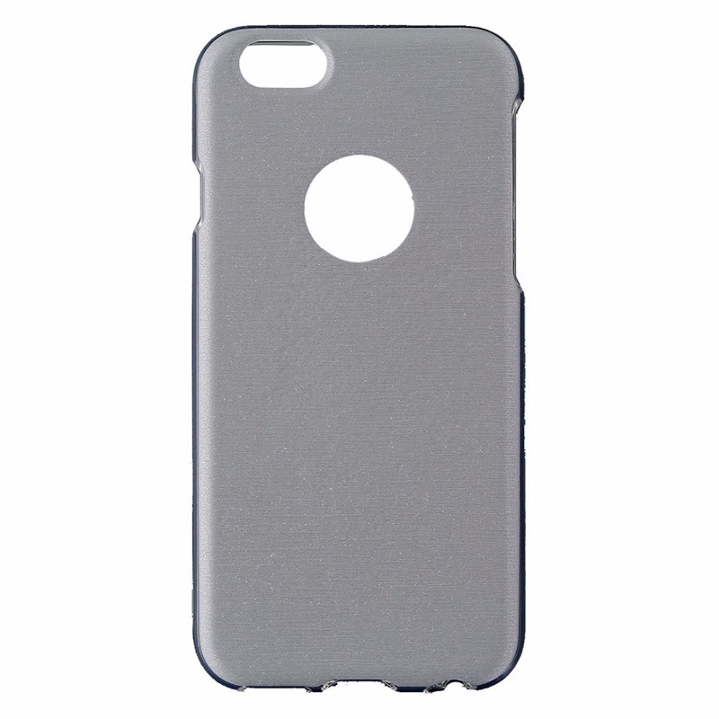 Random Order Soft Gel Case for iPhone 6/6s - Silver/Clear