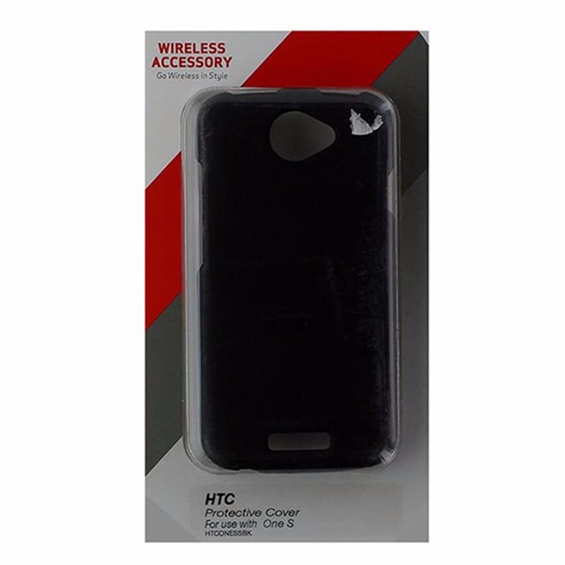 Technocel 2 Piece Hardshell Case for HTC One S - Matte Black