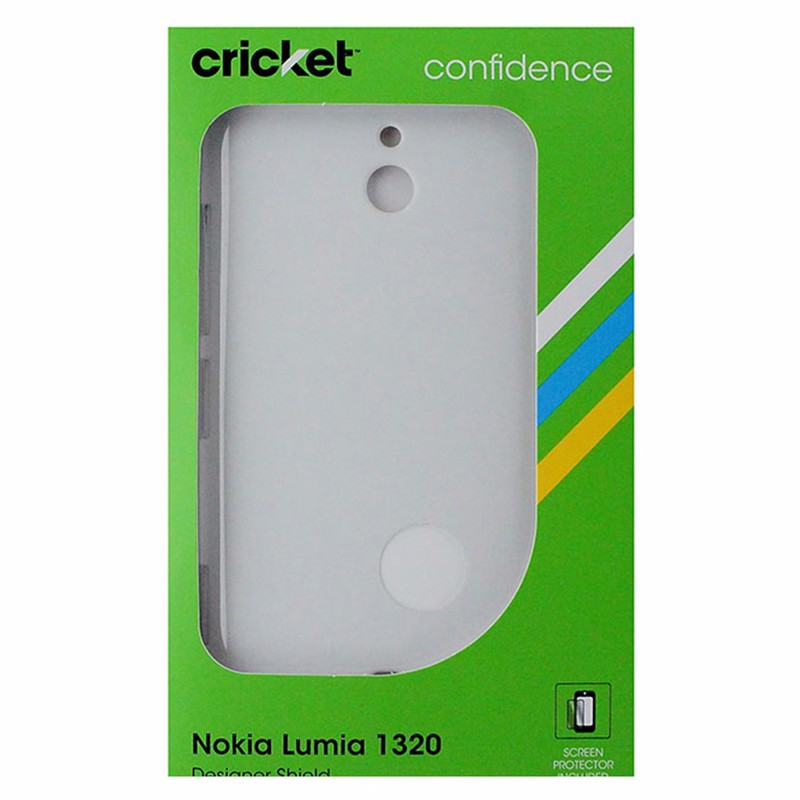 Cricket Hardshell Case for Nokia Lumia 1320 - White