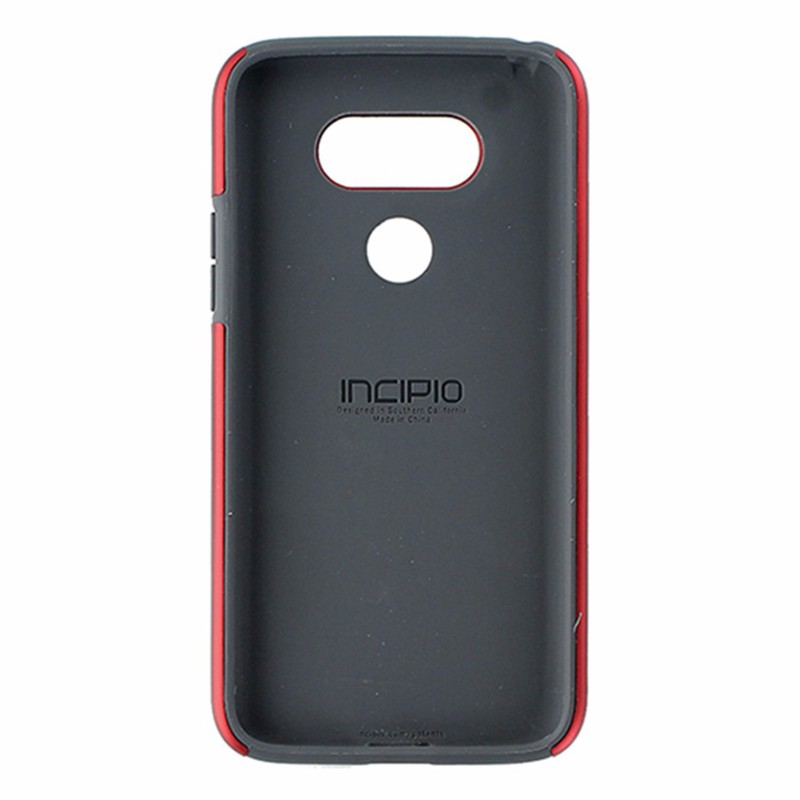 Incipio DualPro Series Dual Layer Case for LG G5 - Red / Dark Gray