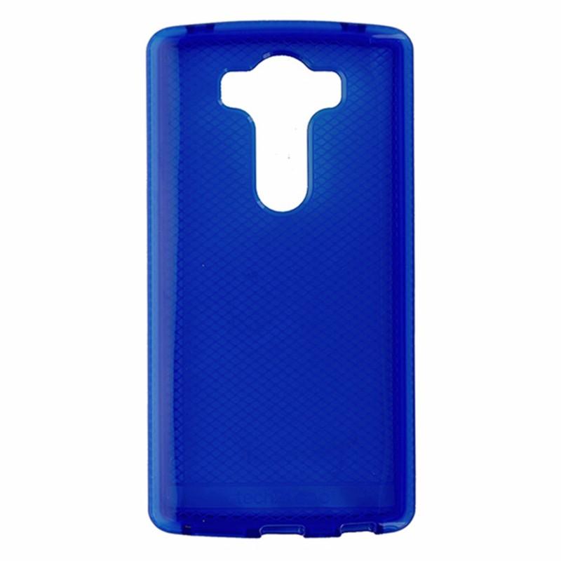 Tech21 Evo Check Series Flexible Slim Gel Case Cover for LG V10 - Blue / White