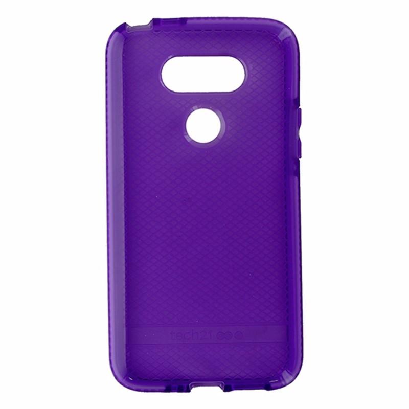 Tech21 Evo Check Series Flexible Gel Case for LG G5 - Purple / White
