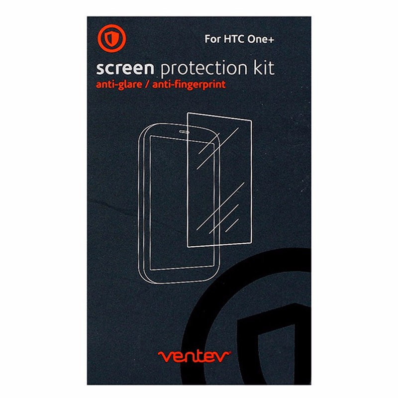 Ventev Screen Protector for HTC One M8 - Retail Packaging - Clear