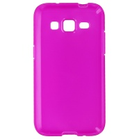 Verizon High Gloss Silicone Case for Samsung Galaxy Core Prime -Transparent Pink