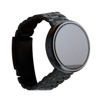 Motorola Moto 360 Smartwatch (1st Gen) - Black / Black Metal Band