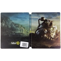 NO GAME INCLUDED - Fallout 76 Collectible Steelbook Case